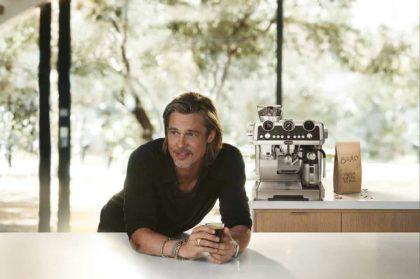 De'Longhi appoints US actor Brad Pitt as new global brand ambassador.